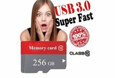 256 GB Memory Card Class 10 Micro SD SDHC Speicherkarte