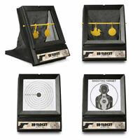 Airsoft Shooting Target w/ Back Net Catcher BB Air Gun Shooting Practice + Paper