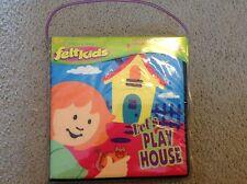 Felt kids playhouse felt pretend play travels easily storybook new in package