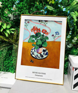 Poster/Canvas Prints Henri Matisse Art Deco Art Poster Painting (Unframed)