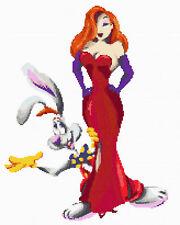 Jessica & Roger Rabbit Cross Stitch Kit Disney/Film character