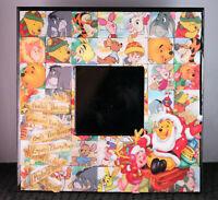 Disney Winnie the Pooh Bear Christmas Vintage Desk or Wall Mirror Eeyore Piglet
