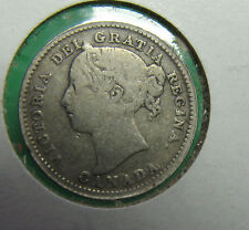 1900 Canada 10 cents VG+