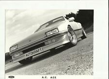 """FORD ac ace press photo """"brochure"""""""