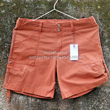 """80% OFF! AUTH SANCTUARY HABITAT ROLL-UP SHORTS WASHED COPPER 33"""" SZ 28 BNWT $32"""