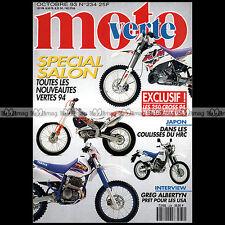 MOTO VERTE N°234-b GAS GAS ENDURO 125 HONDA CR 250 YAMAHA YZ KTM SX ALBERTYN '93