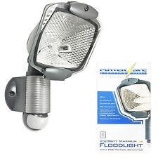UK HALOGEN PIR MOVEMENT SENSOR FLOOD LIGHT 120w HOUSE GARDEN SECURITY DETECTOR