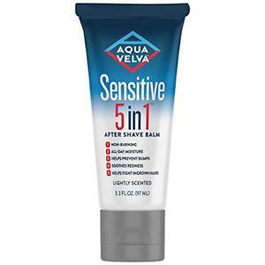 Aqua Velva Sensitive 5 in 1 After Shave Balm, 3.3 oz (7 Pack)