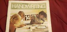 Vintage Skill guide Program HANDWRITING Workbook #homeschool #teacherguide
