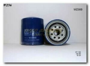 Wesfil Oil Filter for Holden Shuttle 1982-1991 WZ56 Z56