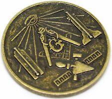 FREEMASON Masonic Medallion Pocket Coin