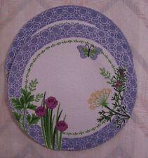 Herbs Placemat Set Braided Herb Garden Pattern Kay Dee