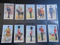 1939 SOLDIERS OF THE KING royal  uniforms Godfrey Phillips Tobacco Set 36 cards