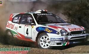 """Hasegawa 1/24 Toyota Corolla WRC """"1999 Portugal Rally"""""""