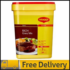 Maggi Classic Rich Gravy Mix, 2kg - Makes 20 Litres, 400 Serves - FREE SHIPPING
