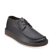 Clarks Originals шов Trek мужские l-stitch черной кожи повседневный туфли 26113256