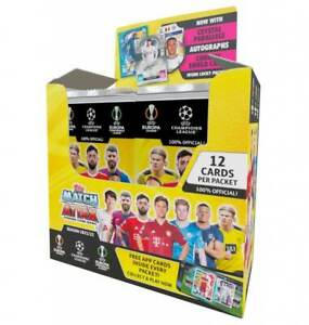 2021/22 Match Attax Booster Box Sealed 24 packets x 12 cards PRE-ORDER