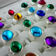 20pcs Multicolor Oval Stone Children mixed Rings Wholesale Jewelry Free Shipping
