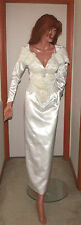 Gorgeous Beaded Sheath Wedding Gown Size Small 8-Foot Train 6 Foot Veil