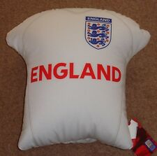"""England Shirt Filled Cushion 14"""" x14"""" bargain price Official merchandise"""