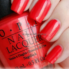 OPI NAIL POLISH My Paprika Is Hotter Than Yours! E76 - Euro Centrale Collection