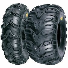 NEW MUD REBEL ATV TIRE SET 2 FRONT 25X8-12 AND 2 REAR 25X10-12 POLARIS SPORTSMAN