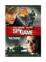 Spy Game (DVD, Full Screen) SHIPS NEXT DAY Brad Pitt, Robert Redford