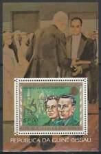 Nobelprijs Winnaars postfris Guine Bissau 1977 MNH block 57 - Curie (S2080)