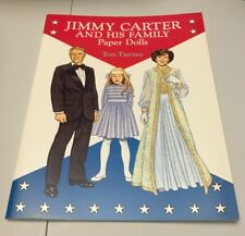 Jimmy Carter Family Paper Doll Book Tom Tierney UNUSED Dover USA