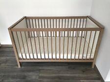 Paidi Babybett / Kinderbett / Gitterbett LEO Rico Ecru / weiss & Matratze Tchibo