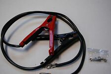 CAR & TRUCK BATTERY JUMPER CABLES POSITIVE AND NEGATIVE 12VDC 10AWG 2FT 100AMP