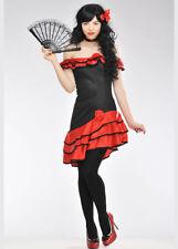 Adult Womens Sexy Spanish Senorita Costume
