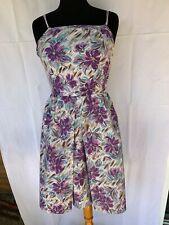 Ancienne robe de couturière des années 1950 , taille 36 environ