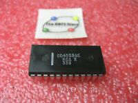 CD4059AE RCA IC CMOS Divide by-N Counter CD4059 4059 - NOS Qty 1