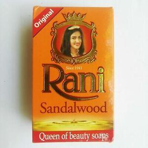 3×90g Rani Ayurveda Soap Red Sandalwood Soap Pure Natural from Sri Lanka