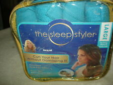 """THE SLEEP STYLER ABSORBENT HEAT FREE ROLLER: SET OF EIGHT 6"""" ROLLERS: SIZE LARGE"""