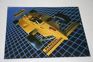 RICK MEARS ROGER PENSKE PENNZOIL PC 11 CART INDY 500 1983 HERO CARD EXCELLENT