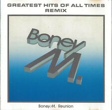 Boney M. Reunion CD Greatest Hits Of All Times - Remix - Germany