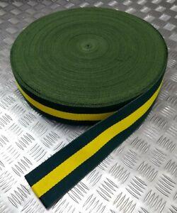 Genuine Jamaican 3rd Battalion Military Cotton Canvas Stable Belt Material JDF