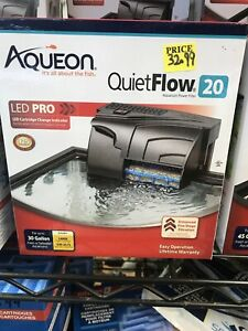 Aqueon Quietflow Power Filter 20. **Free Shipping** #SHOPSMALL