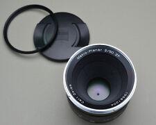 Carl Zeiss Makro Planar f/2 50mm ZF T* Lens Hood Caps & Filter Macro (#2990)