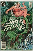 Swamp Thing 1982 series # 25 Canadian variant very good comic book