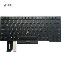 New For Lenovo IBM Thinkpad E480 E485 E490 L480 L490 US keyboard 01YP400 01YP440