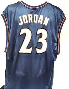 Mens Reebok Michael Jordan #23 Washington Wizards Blue NBA Replica Jersey