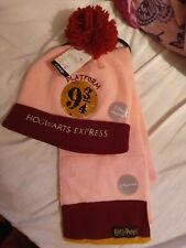 Harry Potter Hat & Scarf 8-12 yrs