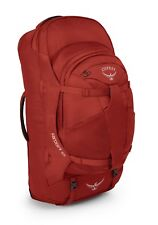 Osprey Farpoint 55 M / L Rucksack Reisetasche Wanderrucksack Tasche Jasper Red