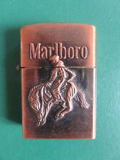 Briquet de Collection MARLBORO Cow Boy Western Objet fumeur Tabac Cigarette