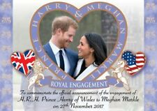 "PRINCE HARRY AND MEGHAN MARKLE ROYAL ENGAGEMENT FRIDGE MAGNET 5"" X 3.5"""