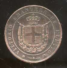 ITALIE  ITALY  5 centesimi  ( TOSCANE ) 1859  ( 1 )