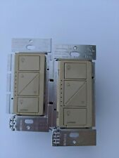 2 Ivory Caseta Wireless Dimmers PD-6WCL
